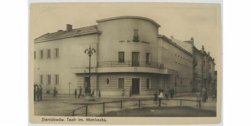 Stanis aw w Teatr im. Moniuszki. 1939
