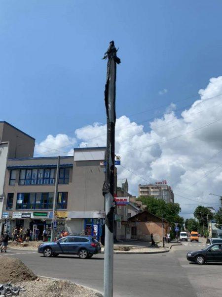 У Франківську тривають будівельні роботи на ділянці, що з'єднала два бульвари (ФОТО)