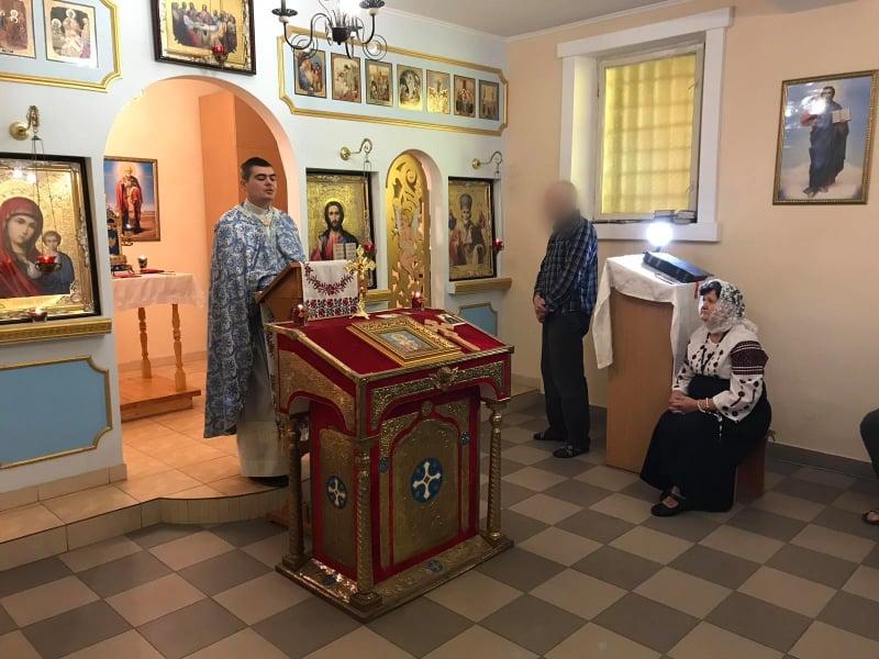 У Франківську в'язні вшанували свято Покрови Пресвятої Богородиці (ФОТО)