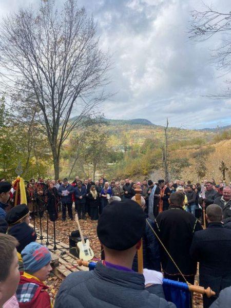 У Дорі на Прикарпатті на свято Покрови відкрили музей-криївку (ФОТО)